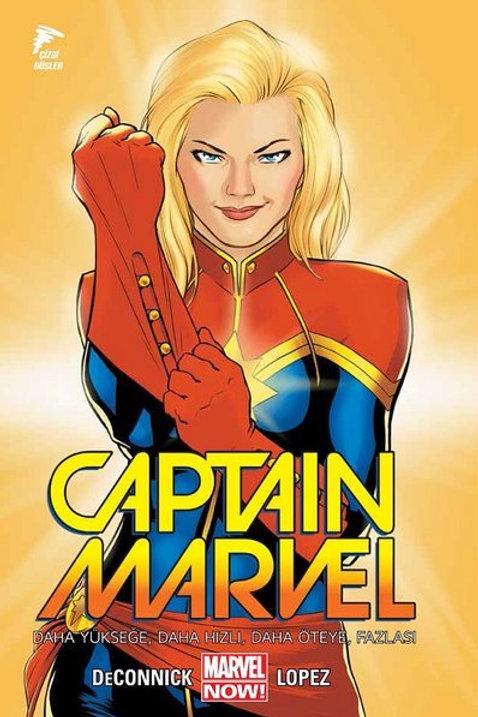 Captain Marvel Cilt 1 Daha Yükseğe, Daha Hızlı, Daha Öteye, Fazlası