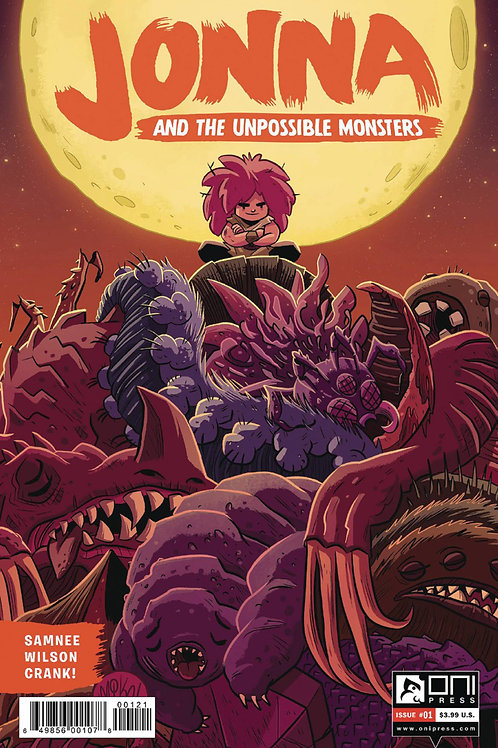 Jonna and the Unpossible Monsters #1 Variant