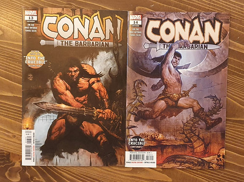 Conan The Barbarian (2019) #13-14
