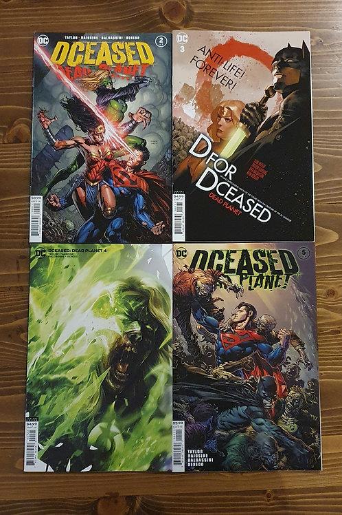 DCeased Dead Planet #2-3-4-5 Karışık Set