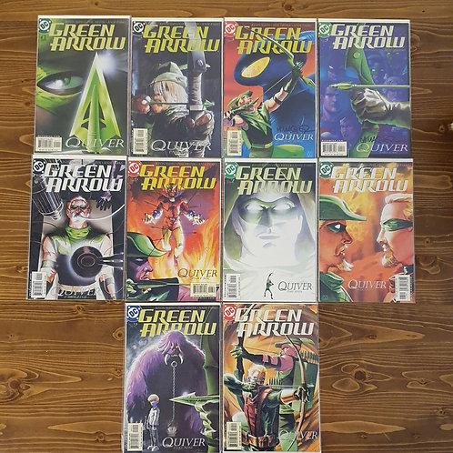Green Arrow (2001) #1-10 Set