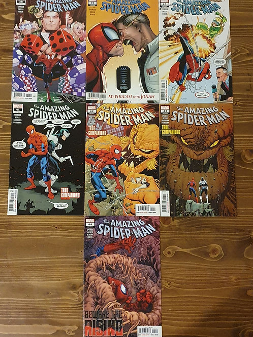 The Amazing Spider-Man (2018) #38-39-40-41-42-43-44