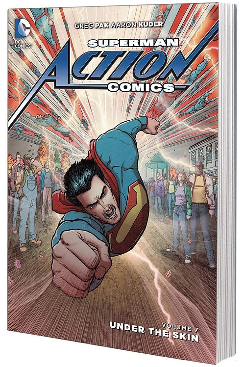 Superman Action Comics Volume 7 Under The Skin