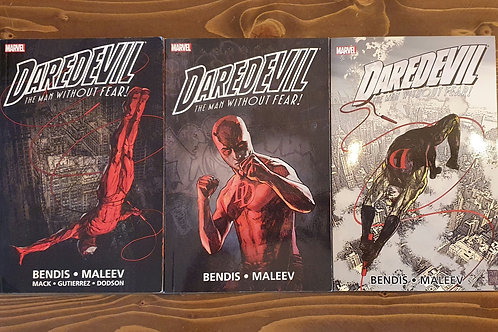 Daredevil By Bendis and Maleev Ultimate Collection Volume 1, 2, 3