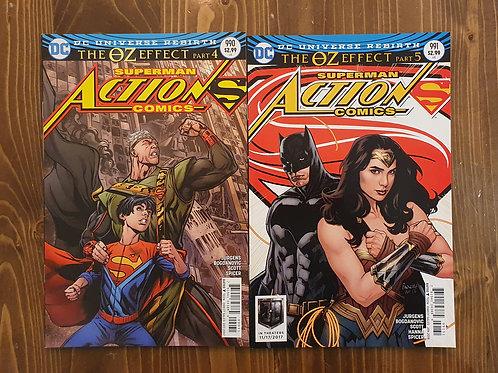 Action Comics #990-991
