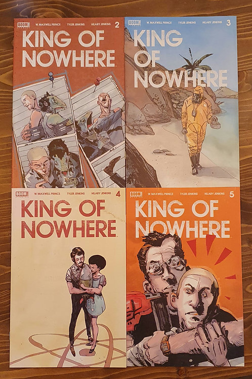 King of Nowhere #2-3-4-5 Set