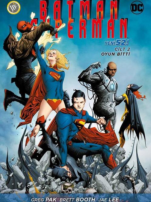 Batman Superman Cilt 2 : Oyun Bitti