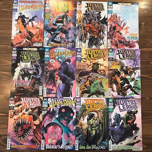 Justice League (2018) #8-9-10-11-12-13-14-15-16-17-18-19