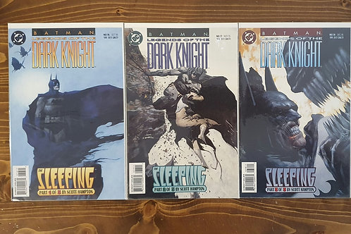 Batman Legends of the Dark Knight #76-77-78