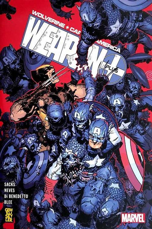 Wolverine Captain America Weapon Plus Variant