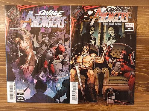 Savage Avengers #17-18