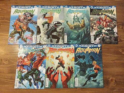 Aquaman #2-3-4-5-6-7-8