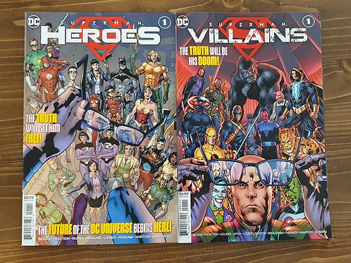 Superman: Villains-Heroes
