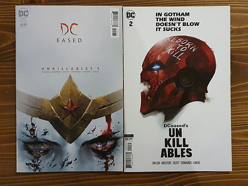 DCeased Unkillables #1-2 Variant Set