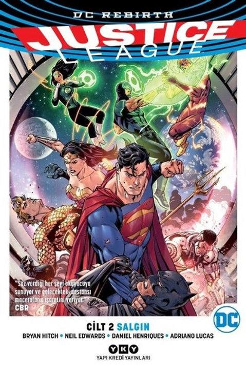 Justice League Cilt 2 : Salgın