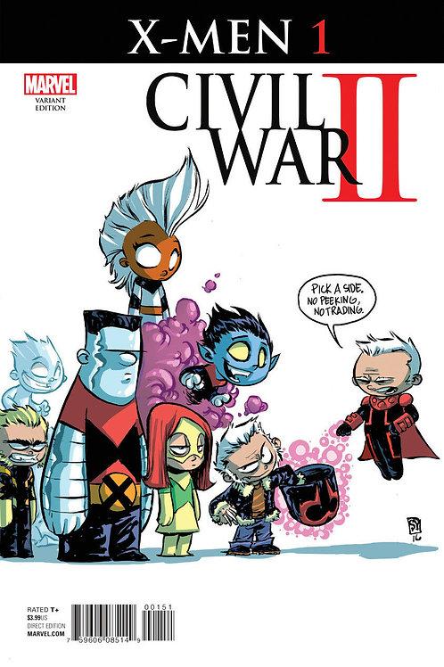 Civil War II X-Men #1 Skottie Young Variant