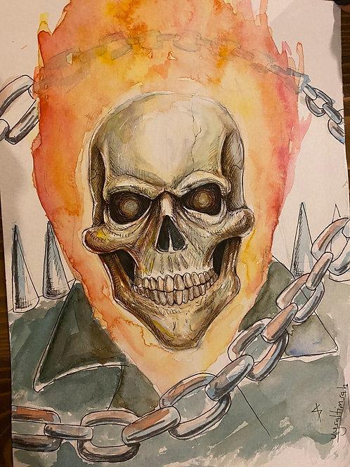Sercan Uysal Ghost Rider Çizim