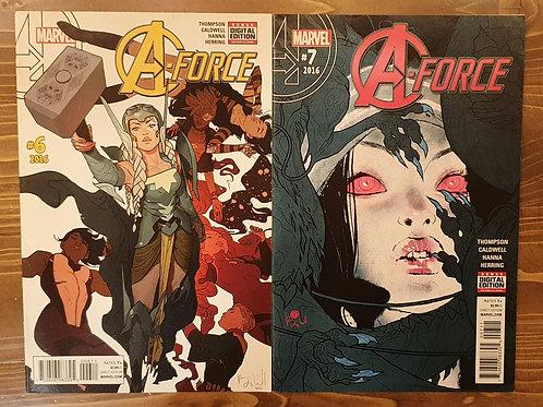A-Force (2016) #6-7