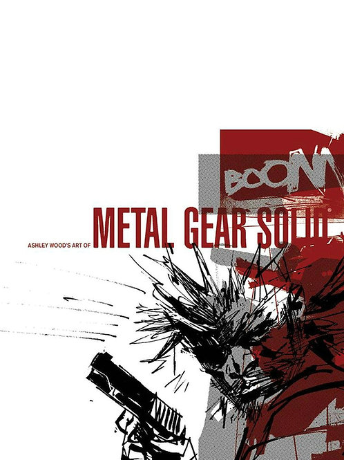 Ashley Wood The Art of Metal Gear Solid