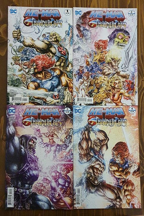 He-Man Thundercats #1-2-3-4