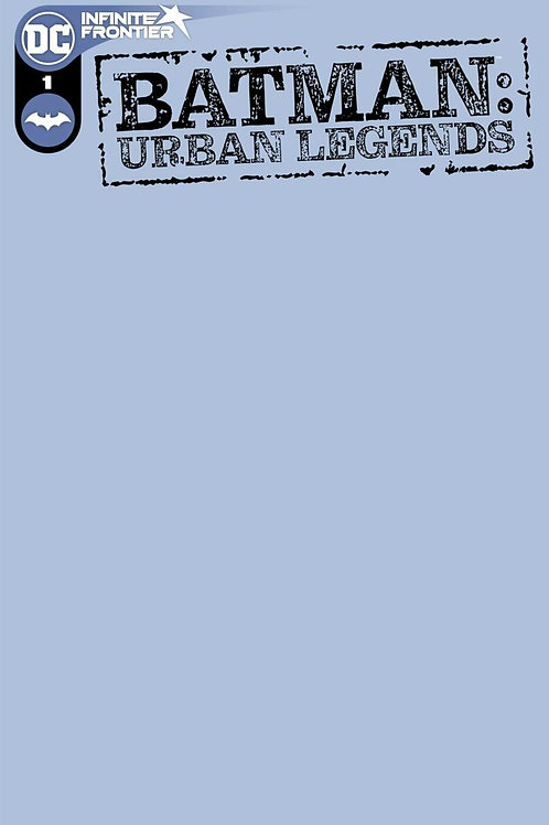Batman: Urban Legends #1 Blank Variant