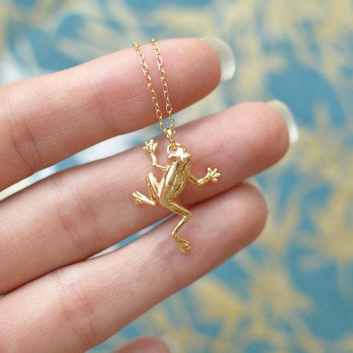 Tree Frog Pendant