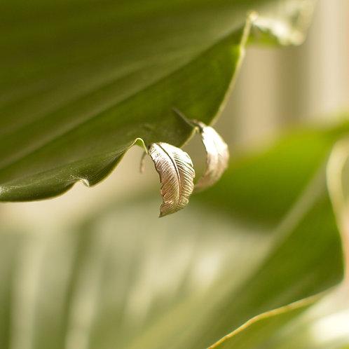 Banana Leaf Earrings