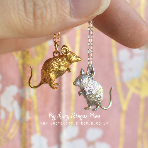 Gold and Silver Mouse