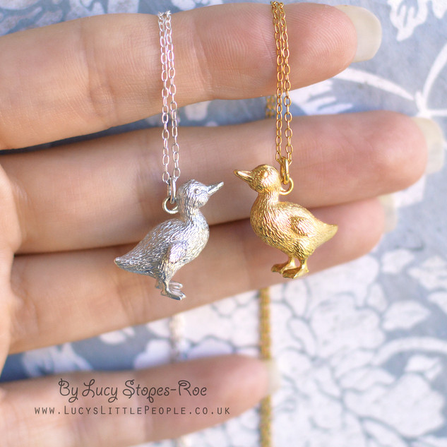 Silver and Gold Duckling