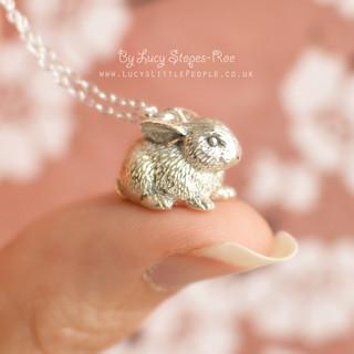 Silver Bunny Rabbit