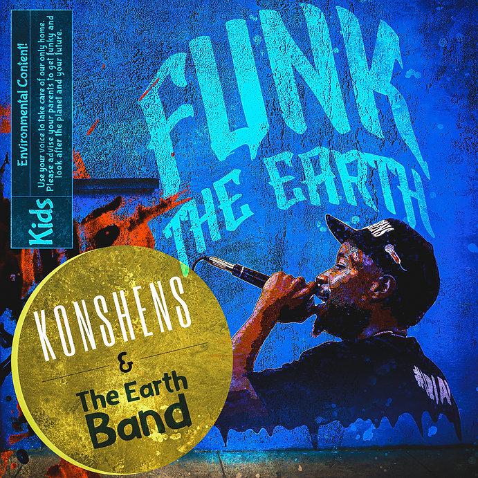 Funk The Earth: Album Cover