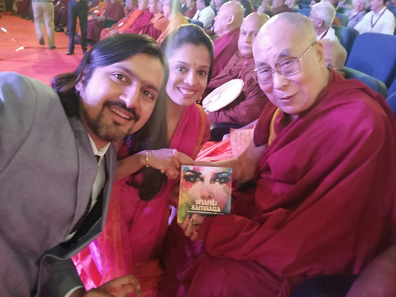 Ricky Kej Selected -with His Holiness Da