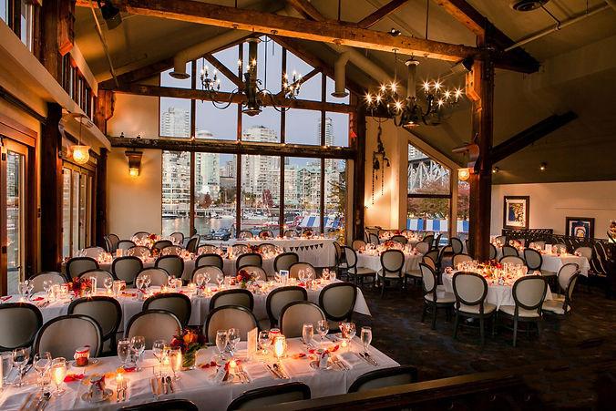 wedding receptions at Bridges Restaurant