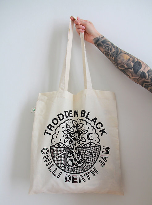 Chilli Death Jam Organic Tote Bag