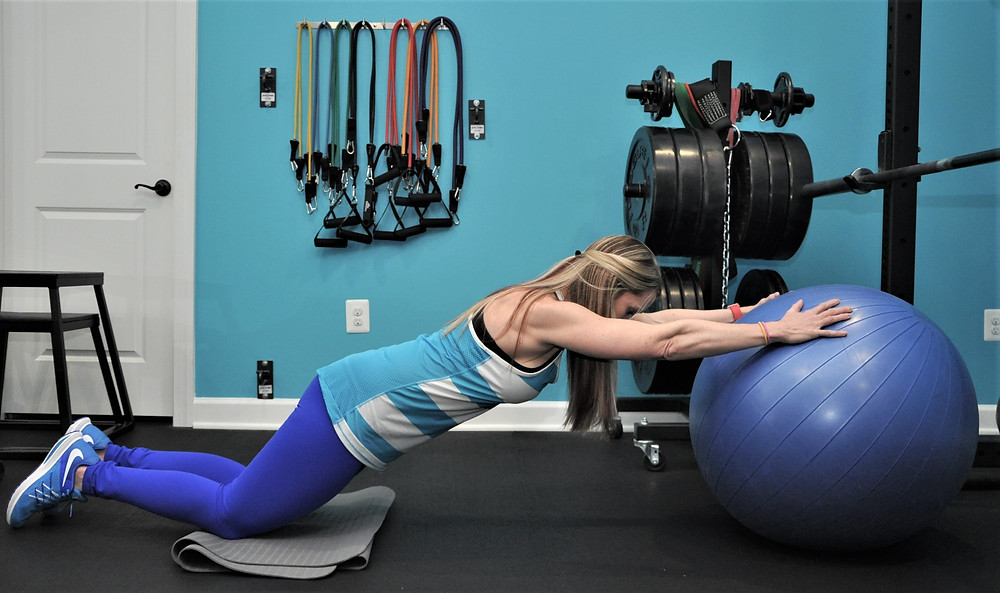 Stability Ball Roll Out