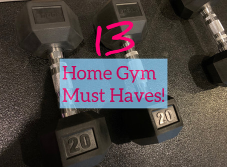 13 HOME GYM Must-Haves That Won't Break the Bank!
