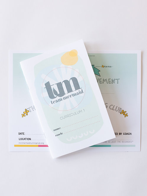 Team Mermaid Curriculum 1 Journal Pack x 1