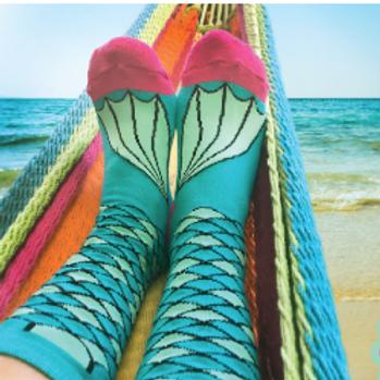 Mermaid Tube Socks - YAY!