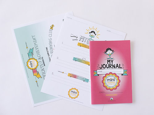 Mini Mermaids Curriculum 2 Journal Pack x 1