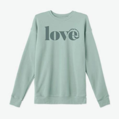 """Nothing But Mermaid Love"" Crew Neck Sweatshirt"