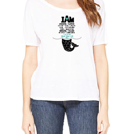 I Am Statement Slouchy Tee