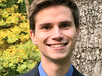 Welcome to Grant Morgan, New BCAP Prevention Intern!