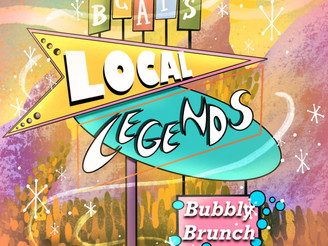 Tickets on Sale Now for Local Legends Bubbly Brunch!