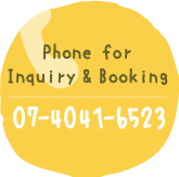 Phone for Inquiry & Booking