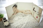 Baby's life-sized three-fold Album