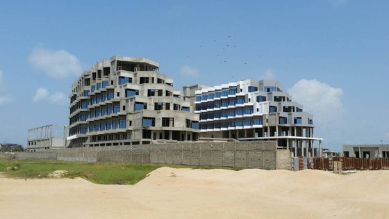 Marriott Cotonou Topping Out