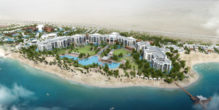 Salwa Resort Masterplan, Qatar