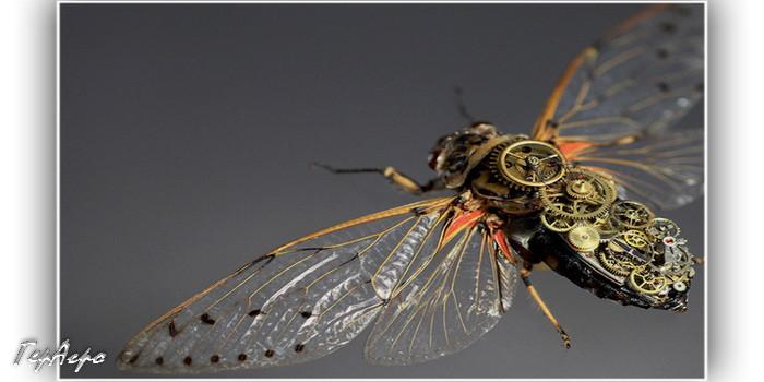 механическое насекомое