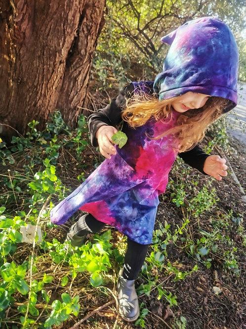 CHILD EXCLUSIVE PIXIE HOOD SKATER DRESS