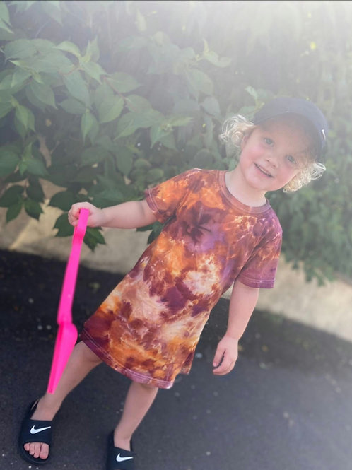 CHILDREN'S T-SHIRT DRESS